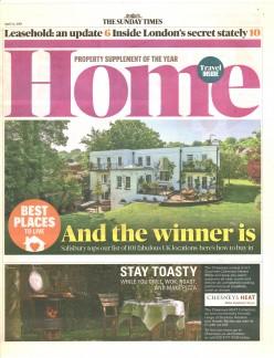 London's Secret Stately - Sunday Times Home 14/04/19