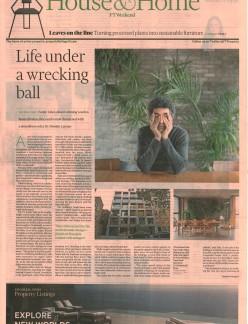 Life under a wrecking ball 12.01.19