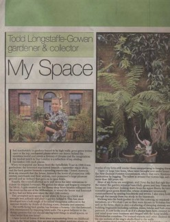 Sunday Telegraph March 2006 TLG